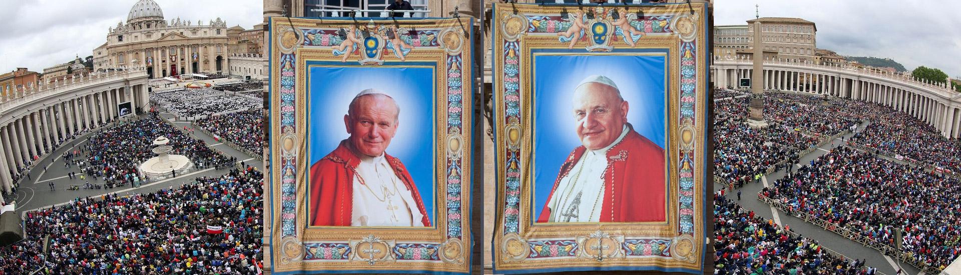 Dos Papas Santos, Juan XXIII y Juan Pablo II