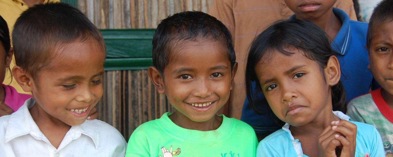 Reparación del orfanato en Timor este