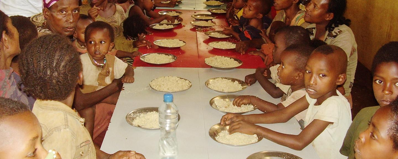 Alimentación, higiene y educación en Etiopía