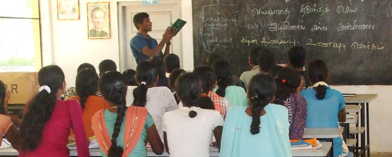 Renovar albergue de chicas en Sri Lanka