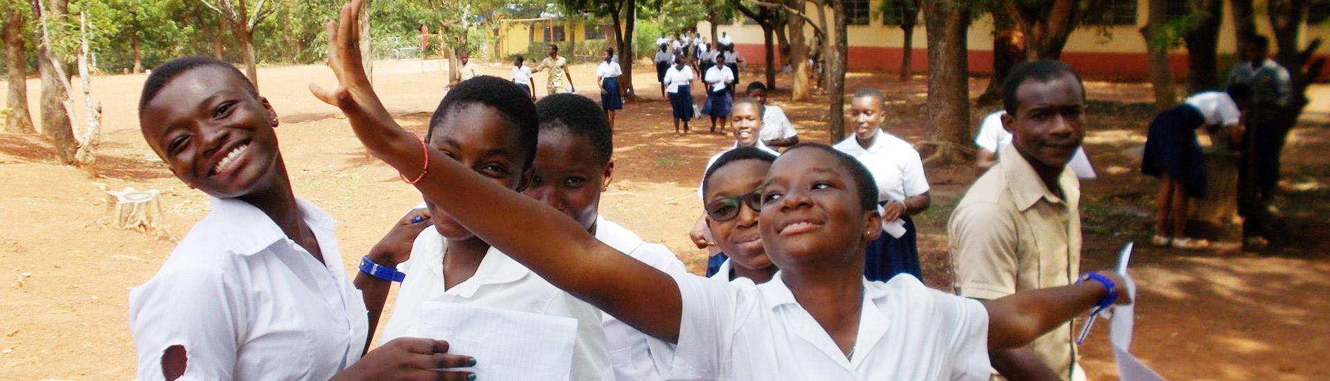 Mejorar la educación de las menores de Costa de Marfil