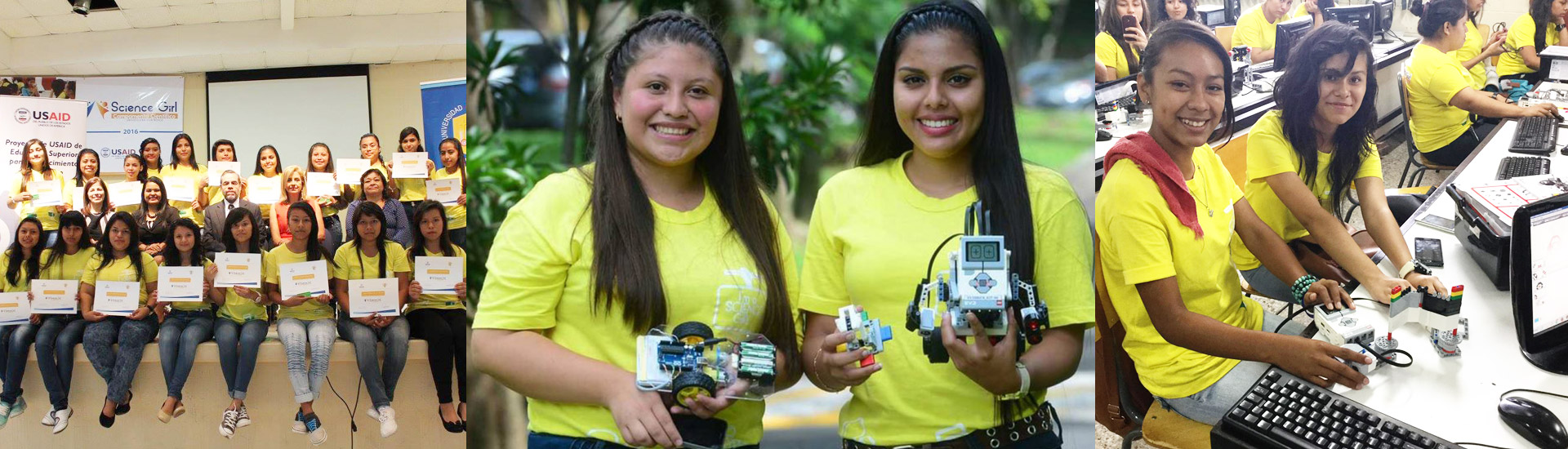 El Science Girl Camp en El Salvador