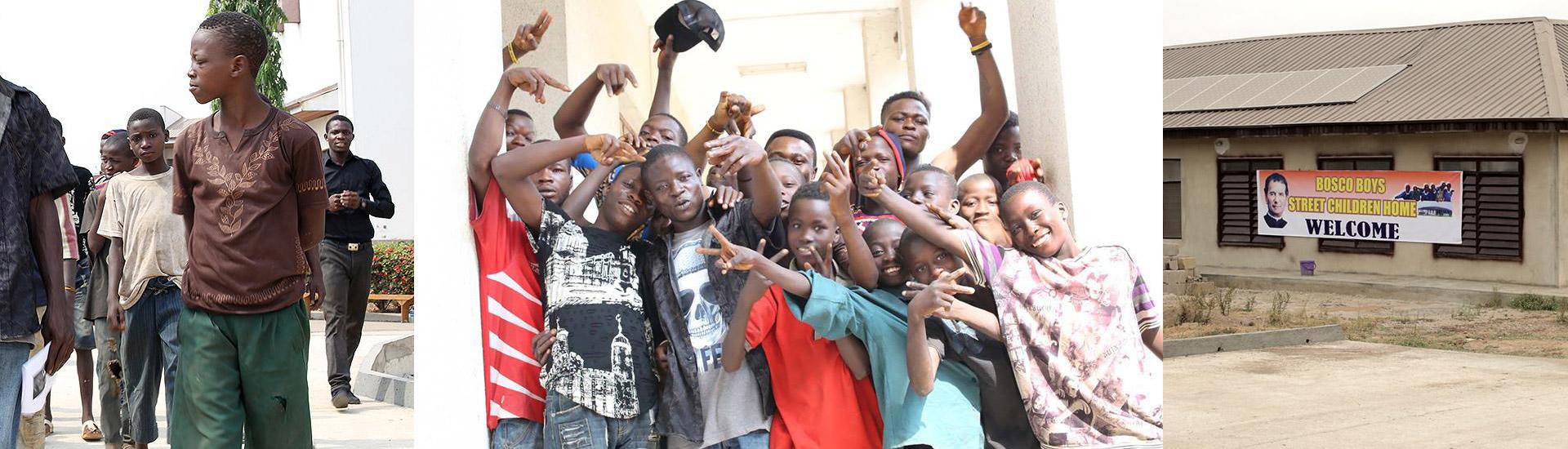 Menores de la calle de Nigeria