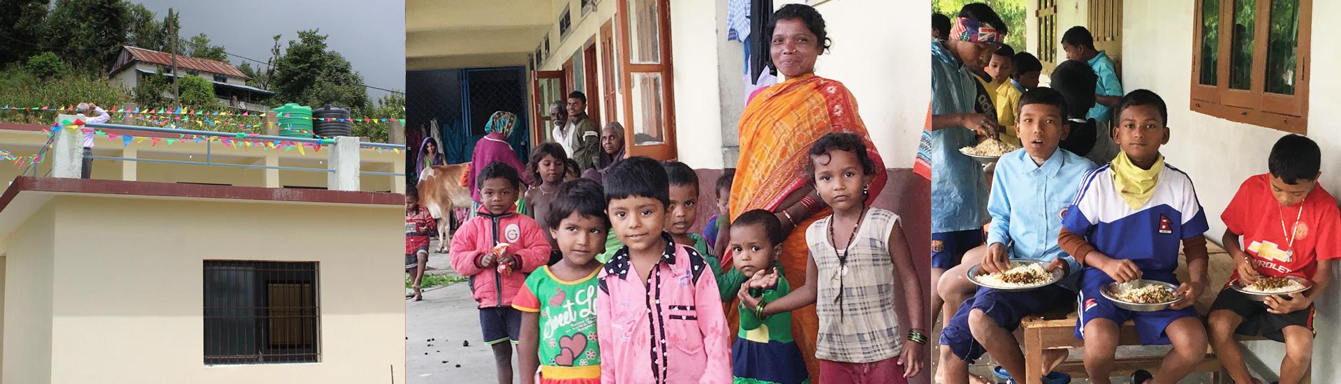 Ayuda a Nepal - Reconstrucción
