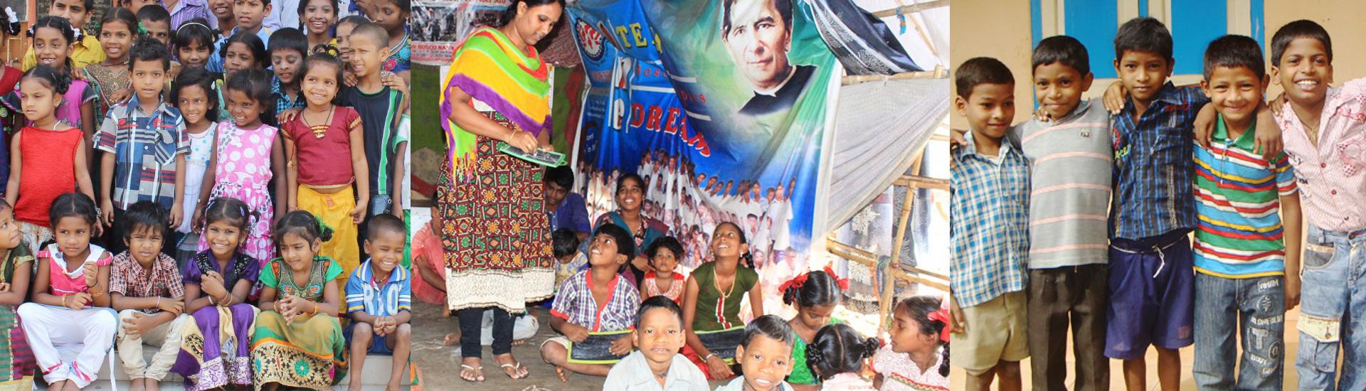 Educación para 60 niños en India