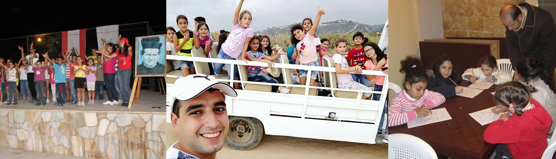 El joven que llevó a Don Bosco al Líbano