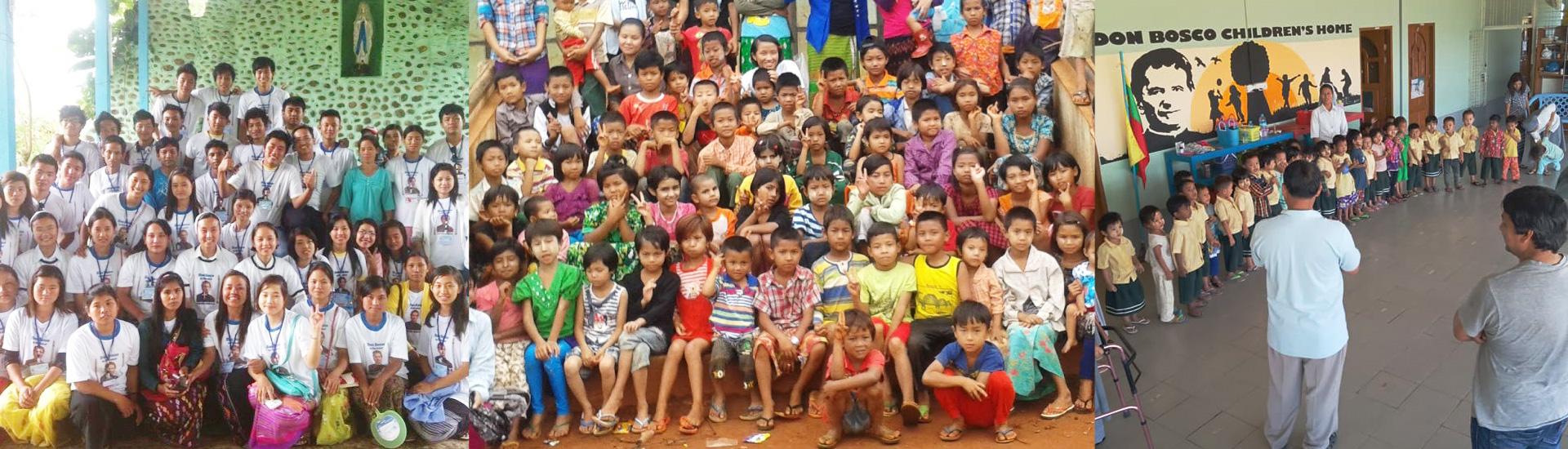 Programas educativos en Myanmar