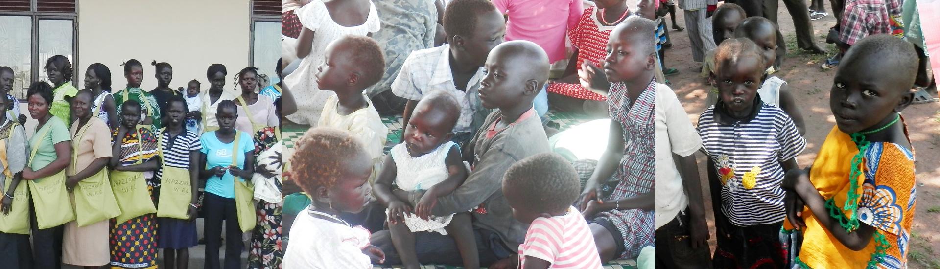 Refugio y educación para los desplazados en Sudán del Sur