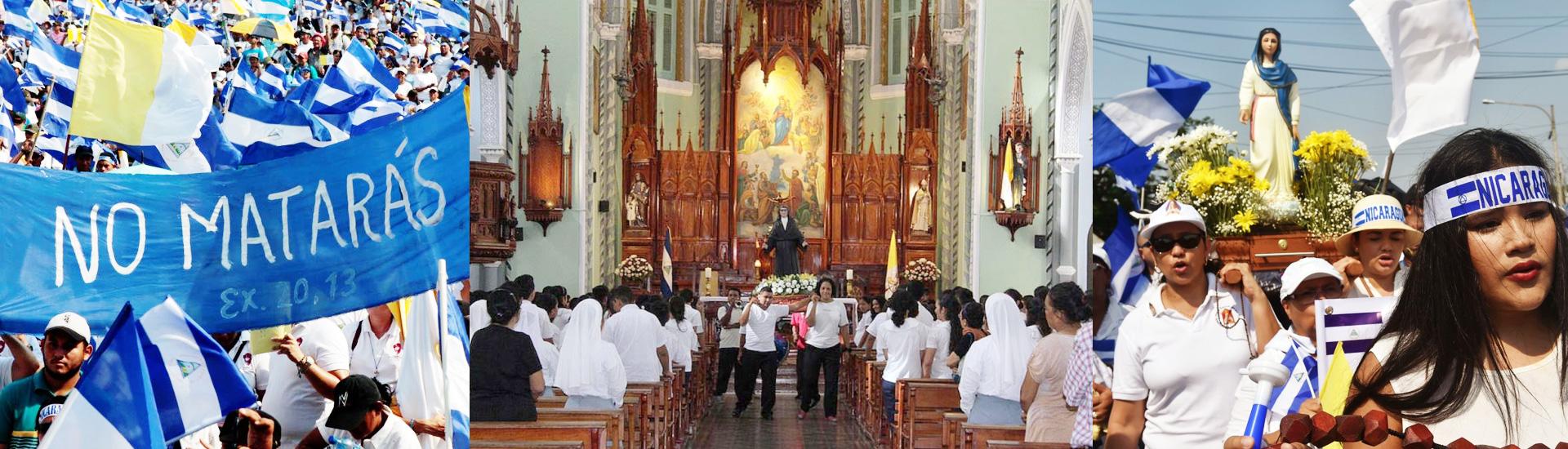 La Iglesia promueve la paz en Nicaragua