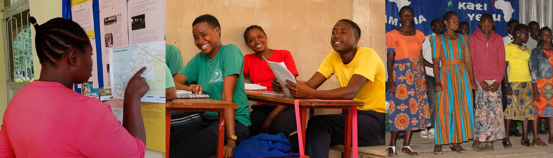 Grace, un futuro mejor en Tanzania gracias a la formación profesional