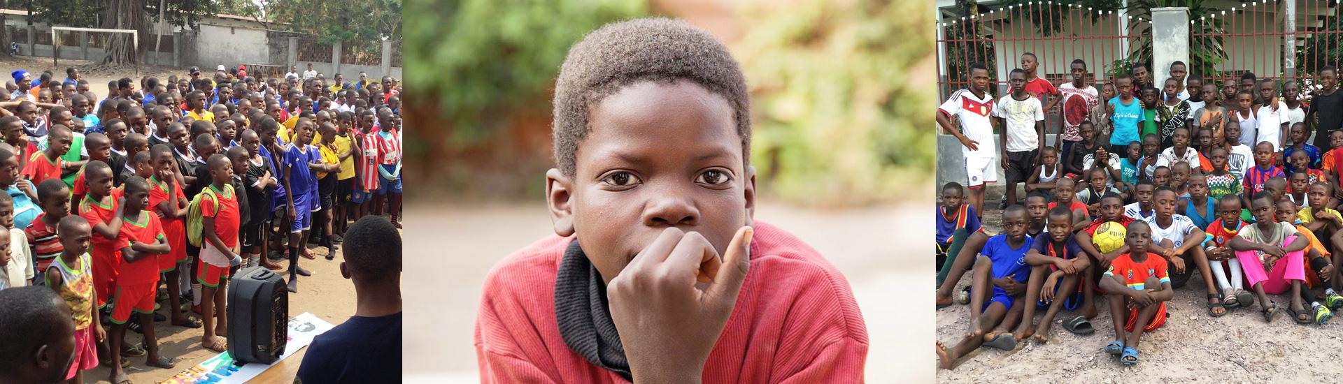 Música y deporte para los menores más pobres en la capital de RD Congo