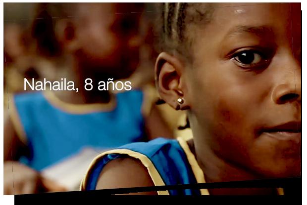 Nahaila, 8 años