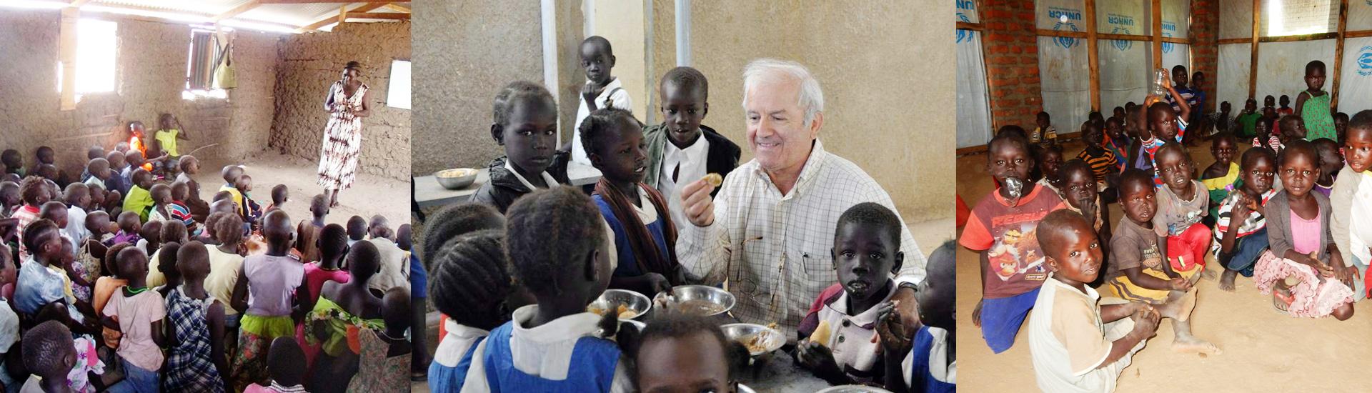 Paz y educación para los desplazados en Sudán del Sur