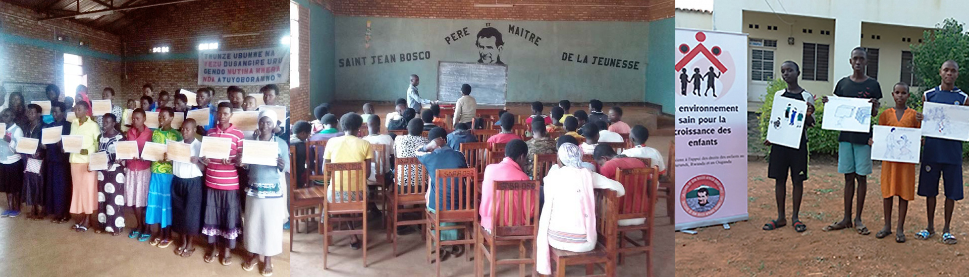 Formación profesional en Burundi para mujeres jóvenes