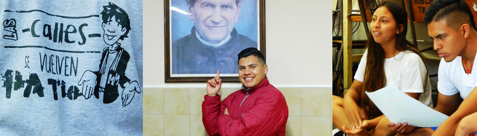 El cambio de vida de Víctor gracias a Don Bosco