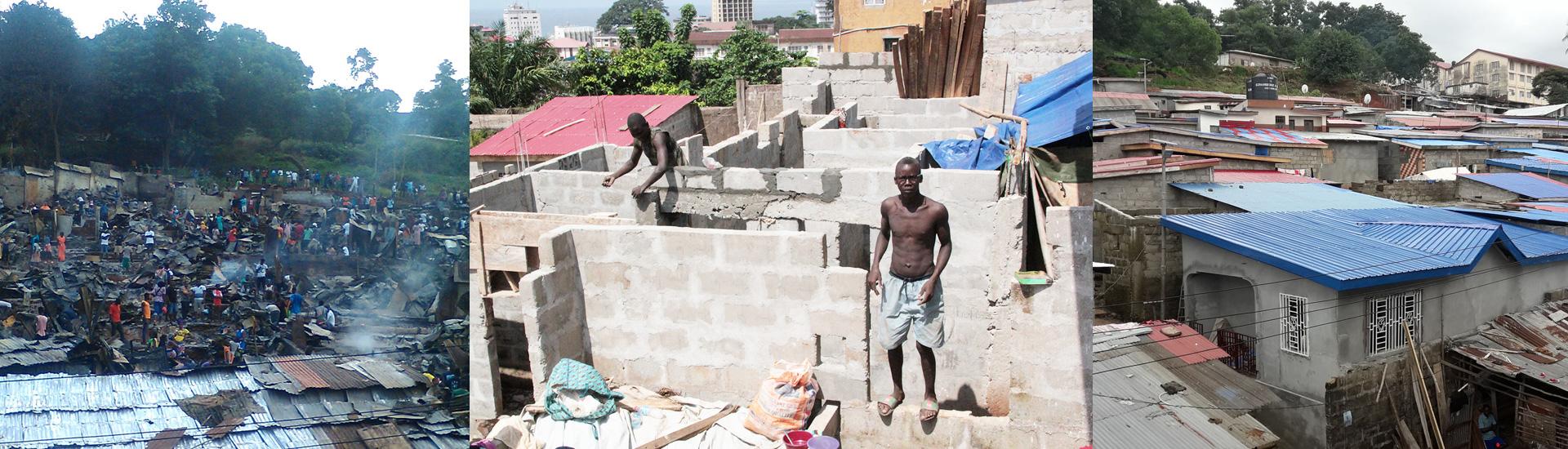 Angola Town: de suburbio a barrio modelo en Sierra Leona