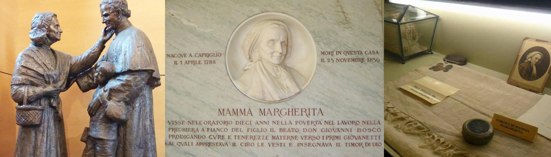 Mamá Margarita, madre de Don Bosco y cofundadora de los Salesianos