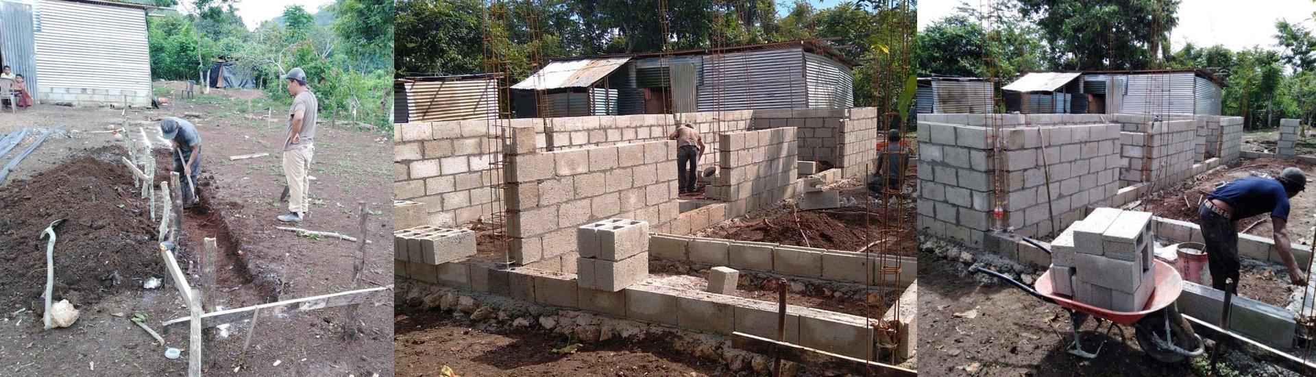 Viviendas para los más pobres en San Benito Petén