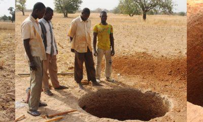Construcción de un pozo para 400 personas