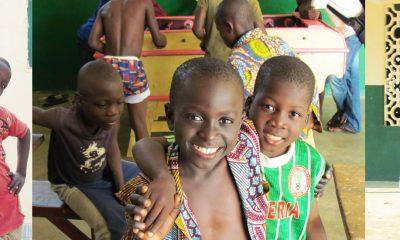 Hogar para niños de la calle en Togo