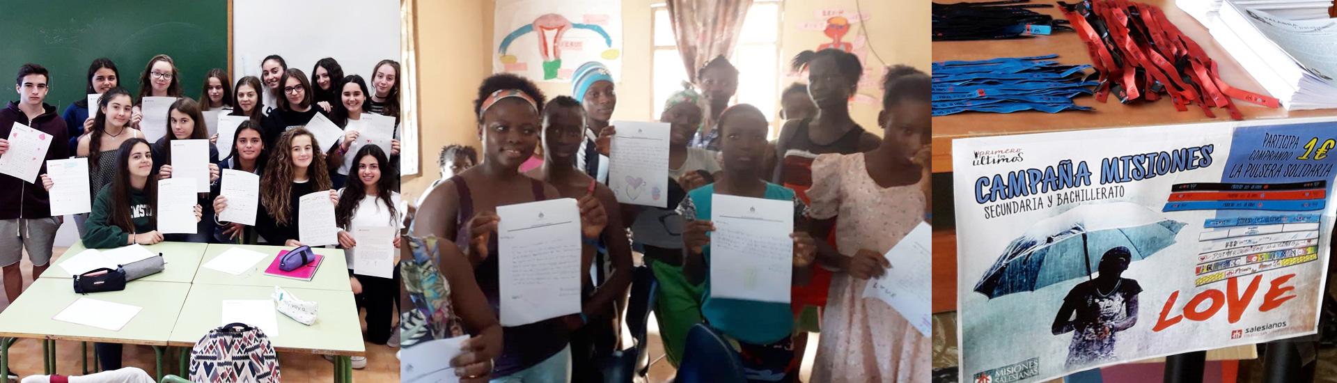 Un campaña colegial para ayudar a las niñas en situación de prostitución en Sierra Leona