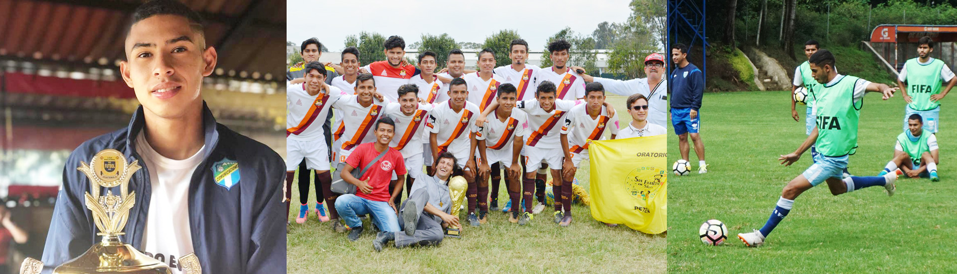 Iván, el chico al que el equipo de fútbol de Don Bosco le cambió la vida