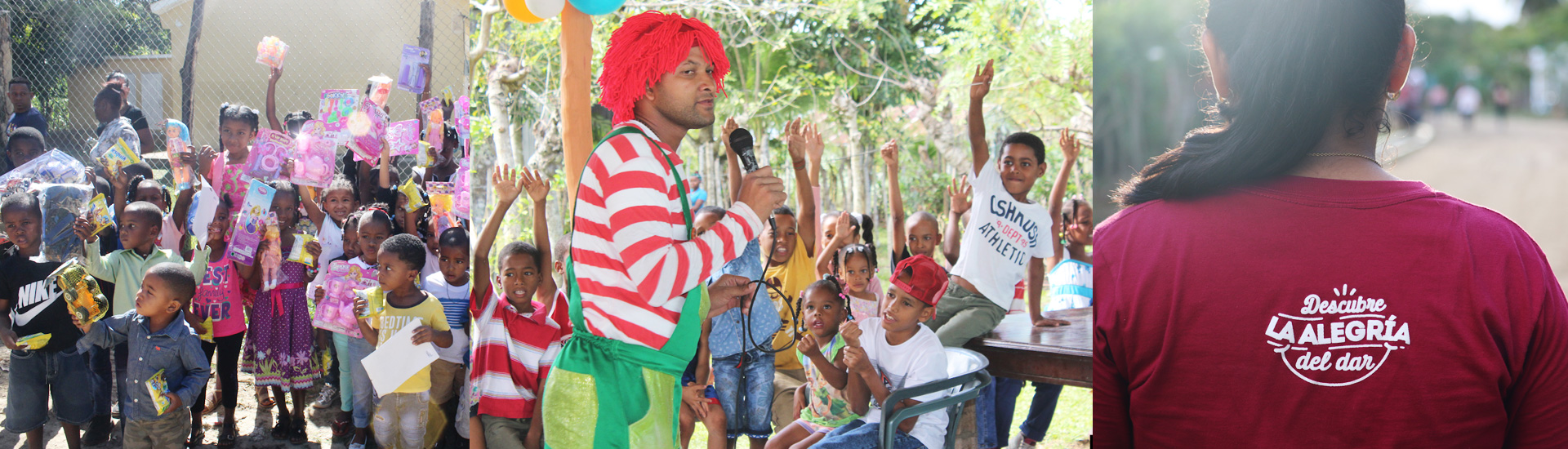 El espíritu misionero de los jóvenes en Dominicana