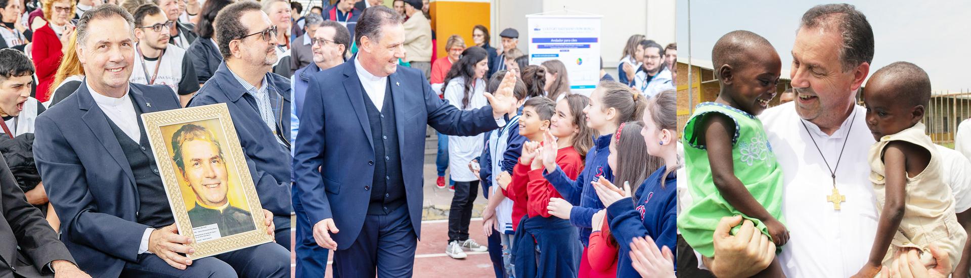 Mensaje del Rector Mayor por la fiesta de Don Bosco