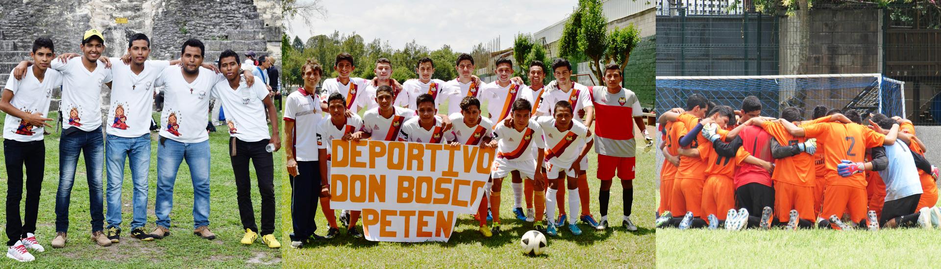 El fútbol transforma la vida de los jóvenes en Petén