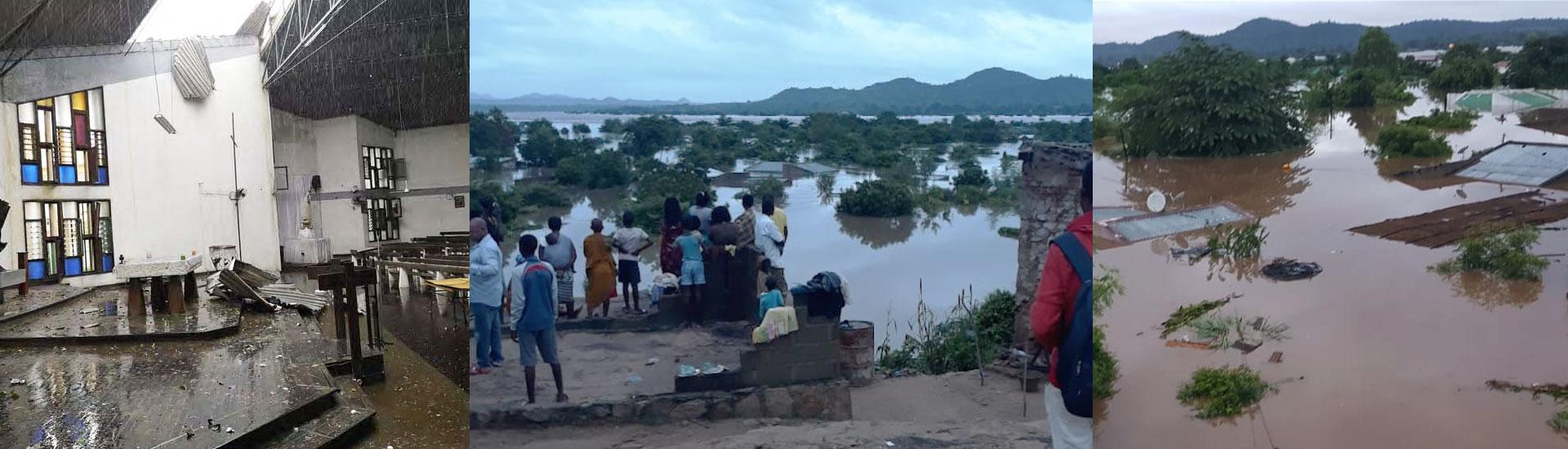 Un ciclón en Mozambique deja miles de afectados