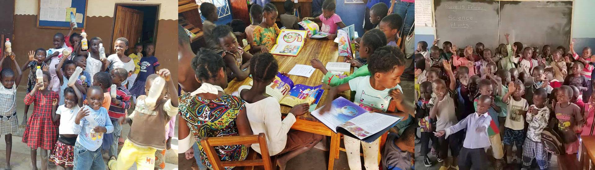 Los niños de Lufubu ya tienen escuela