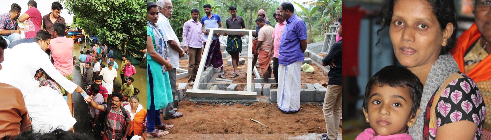 Una casa nueva para Eliyas en Kerala (India)