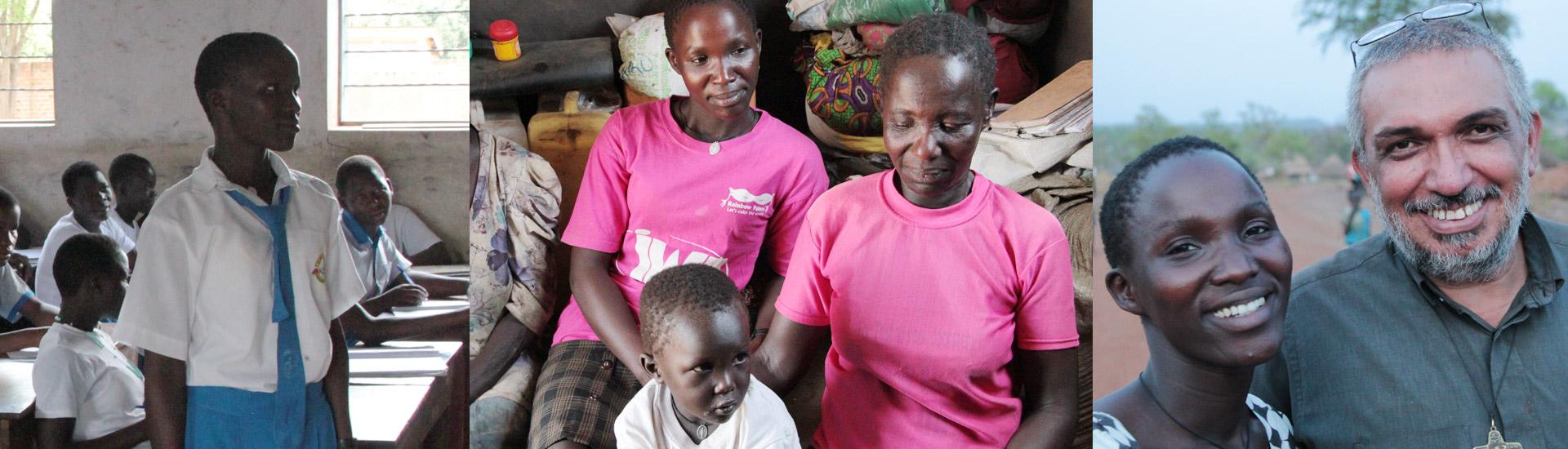 Refugiados en Palabek: el reencuentro de Alice con su madre y con su hijo