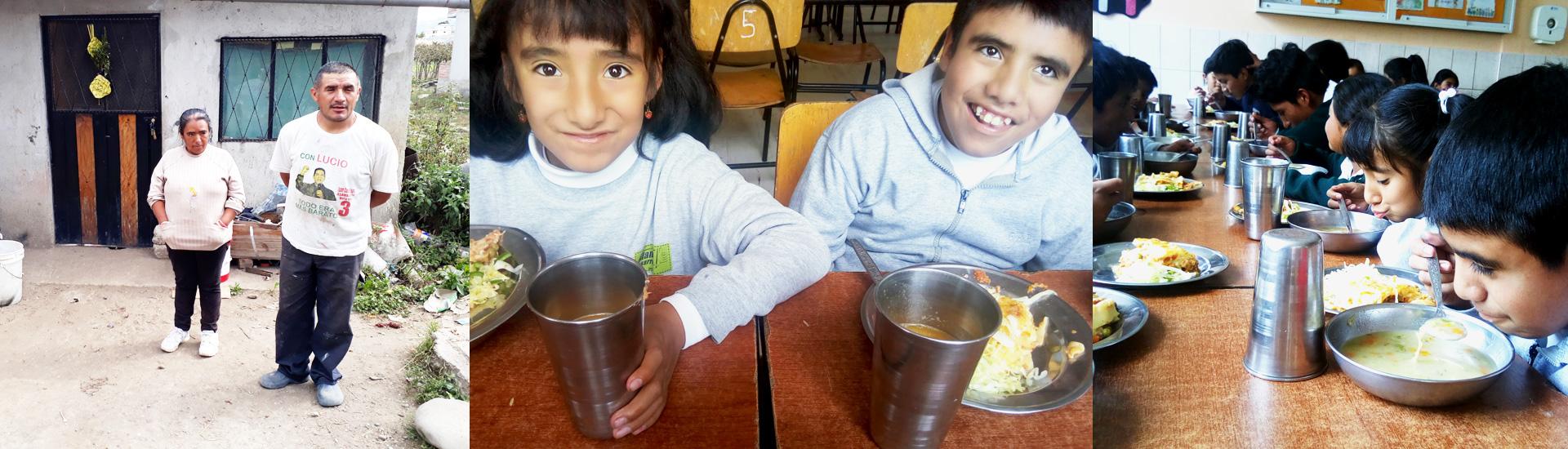 Dos hermanos felices en el Proyecto Salesiano Ecuador