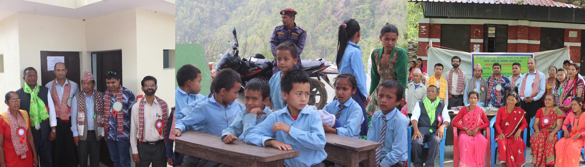 Reconstrucción de Nepal: seguimos trabajando, seguimos dando fruto