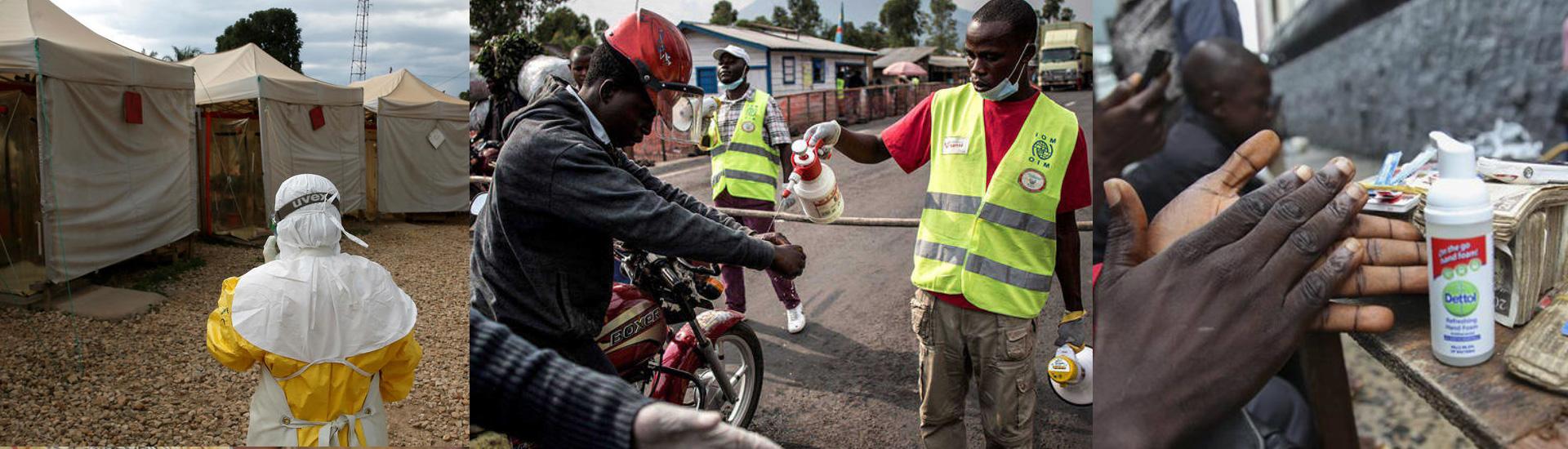 Estamos en alerta para prevenir más contagios de Ébola en Goma
