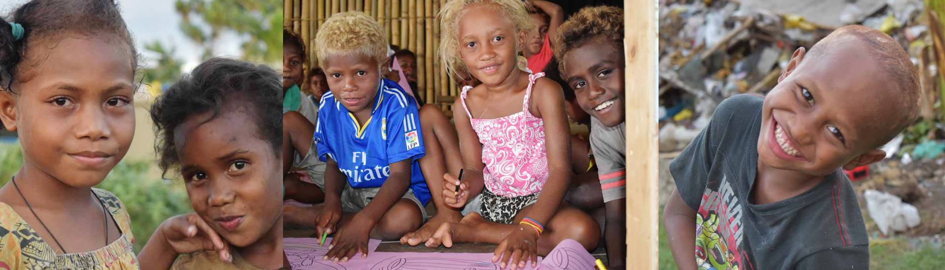 Los niños del basurero de Ranadi aprenden a leer y escribir
