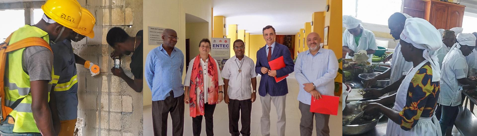Haití, por una formación profesional de calidad para los jóvenes