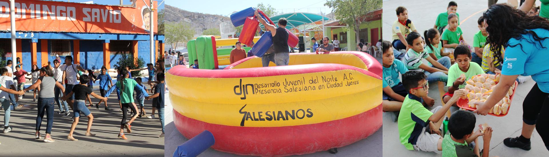Los Salesianos, grandes centro del ocio para todas las edades en Ciudad Juárez