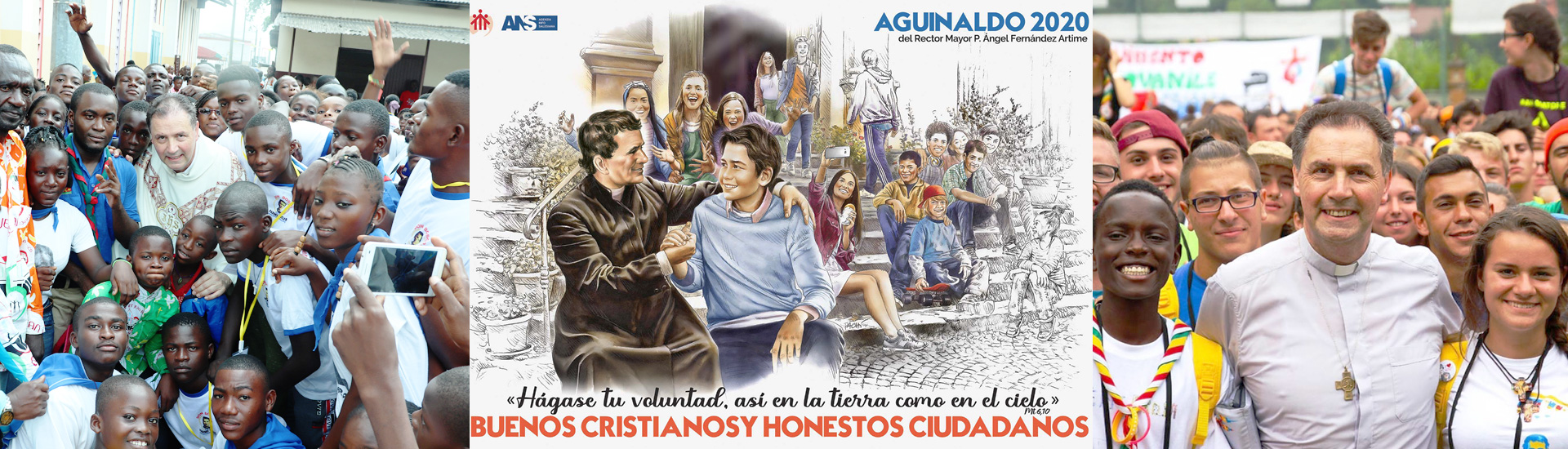 El cartel del Aguinaldo 2020 del Rector Mayor describe la esencia salesiana