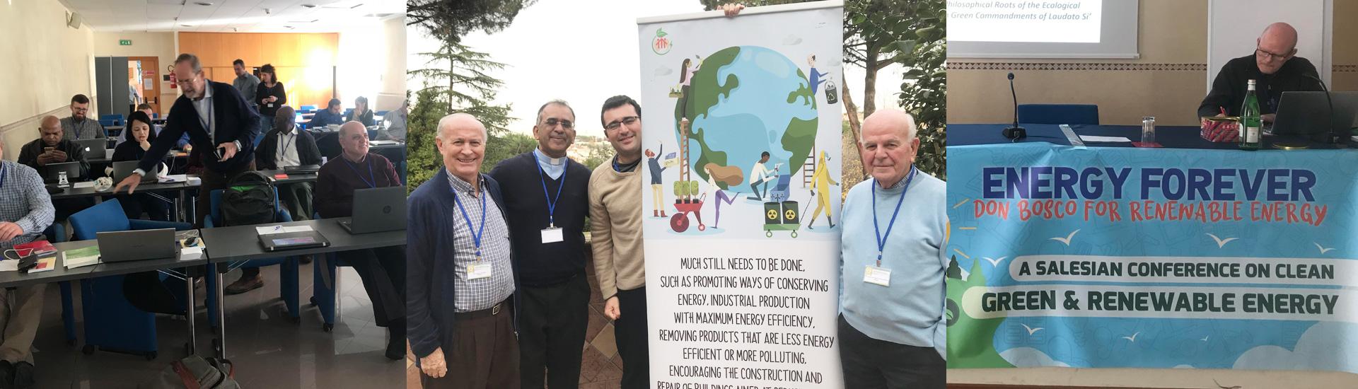 Conferencia de Energía Verde en Roma