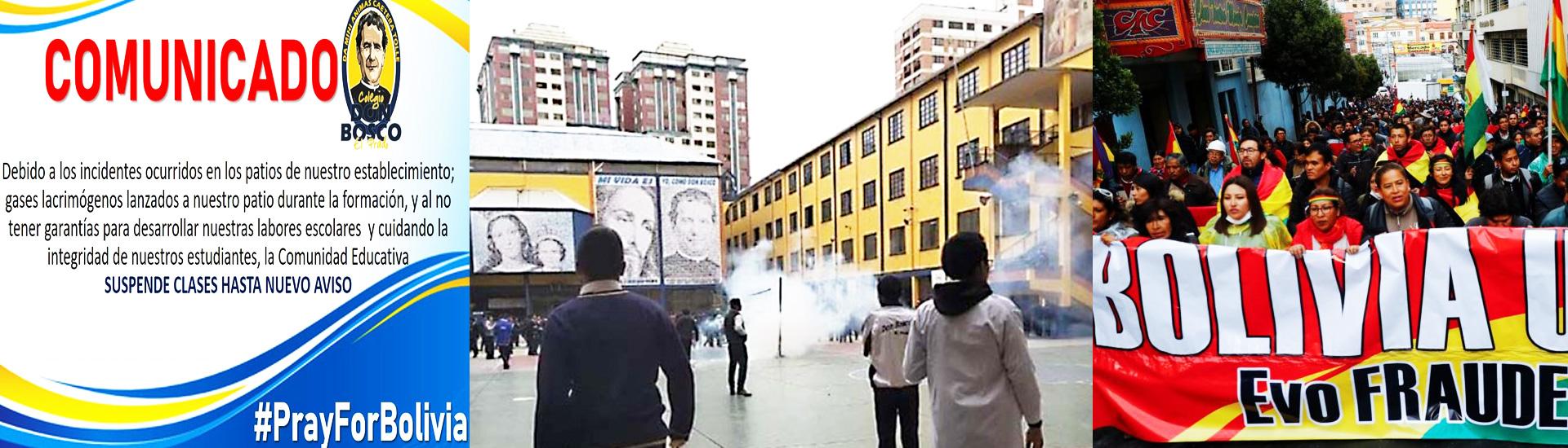 La violencia en Bolivia afecta a las obras salesianas