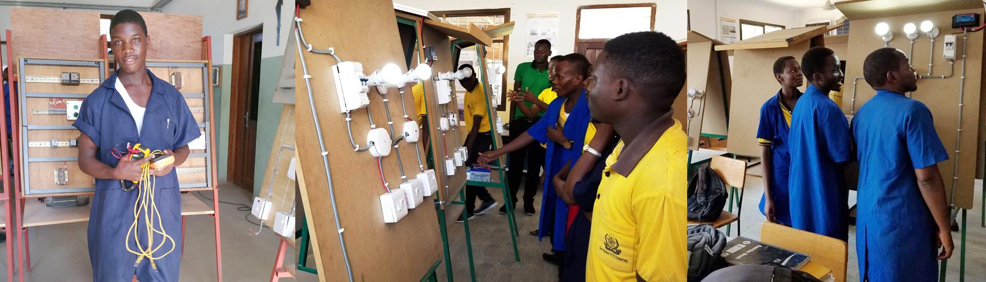 Formación para los jóvenes en energías renovables