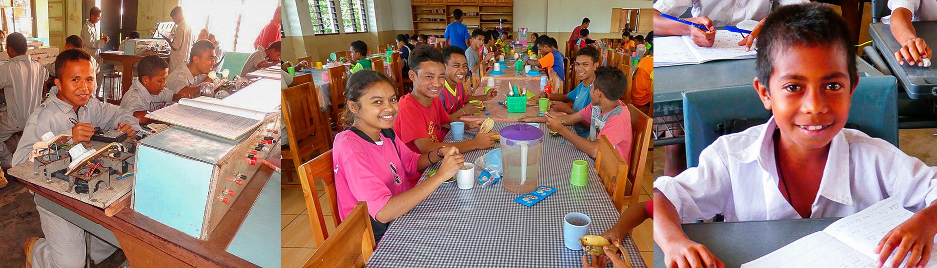 La educación salesiana en Timor Oriental: jóvenes bien formados y con trabajo