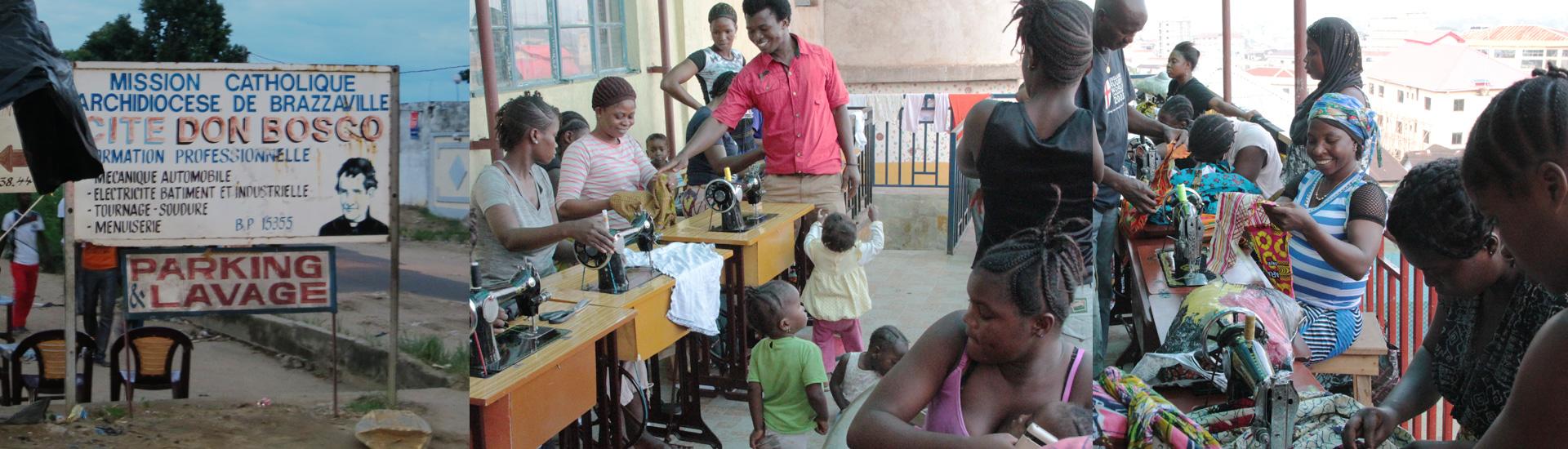 Un futuro como modistas para jóvenes madres en Congo