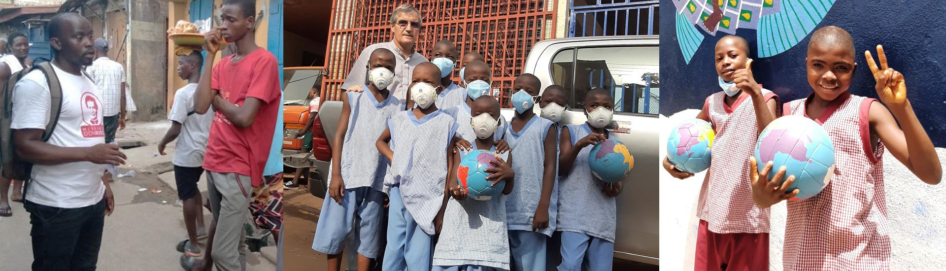 Don Bosco Fambul recurre a su experiencia durante la epidemia de ébola para hacer frente al coronavirus en Sierra Leona
