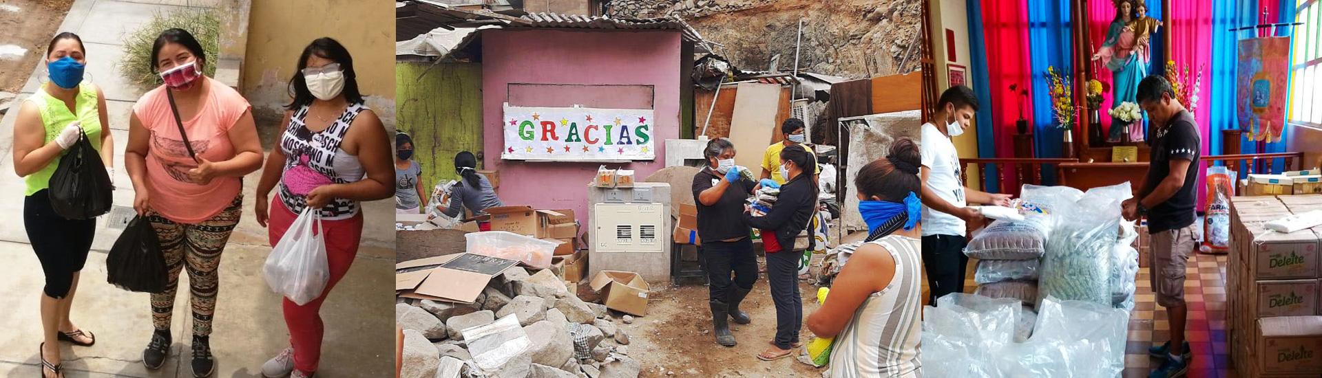 La solidaridad salesiana en Perú en tiempos de coronavirus