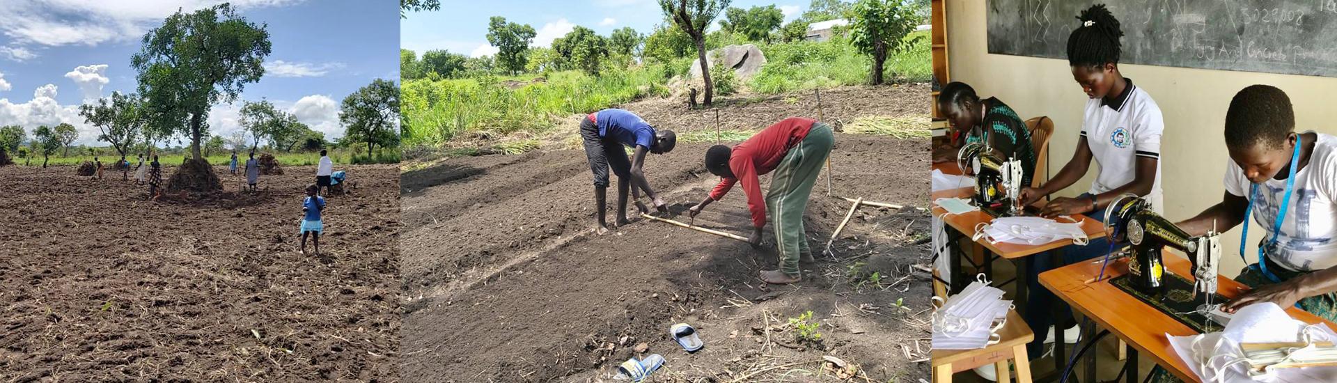 Aislamiento y escasez de alimentos para los refugiados de Palabek (Uganda) por el coronavirus