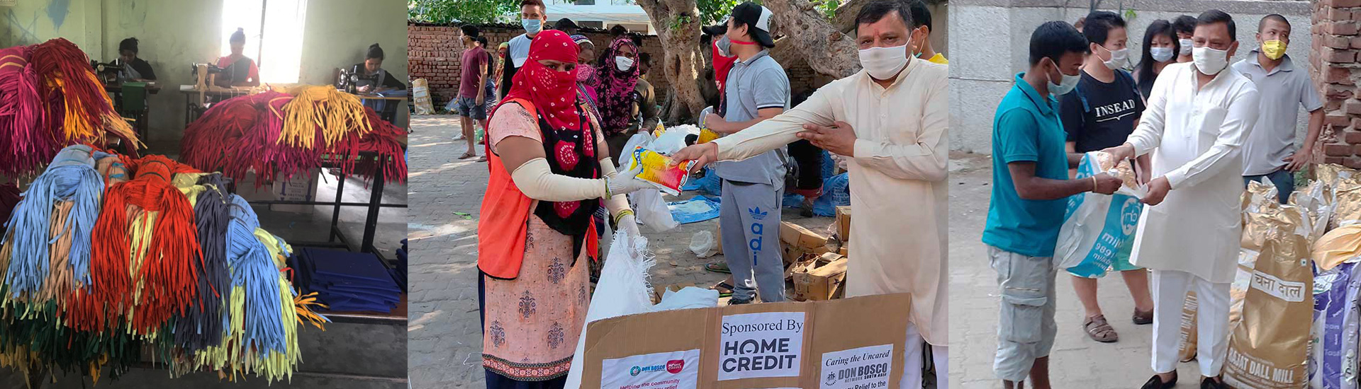 Más de un millón de personas recibe alimentos en India gracias a Don Bosco durante la pandemia