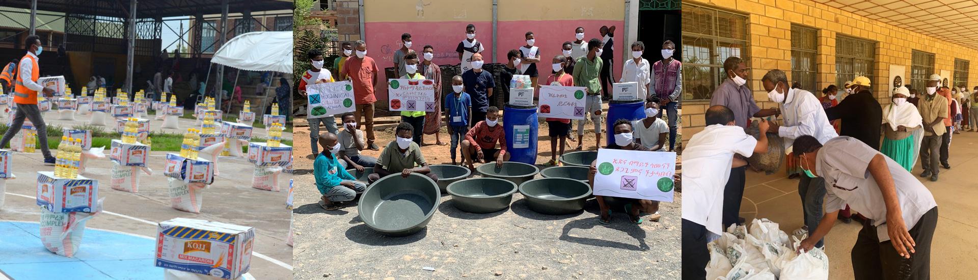 Ayuda en Etiopía para más de 24.000 niños, niñas, jóvenes vulnerables y sus familias durante la pandemia